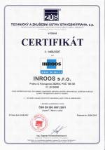 Certifikát ISO 9001 2001